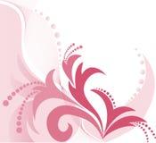 пинк предпосылки флористический иллюстрация штока