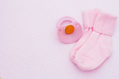 пинк предпосылки младенца стоковое изображение