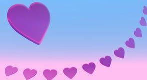 пинк сердец бесплатная иллюстрация