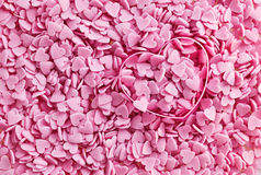 пинк сердец Стоковая Фотография RF