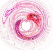 пинк сердца предпосылки Стоковые Фотографии RF