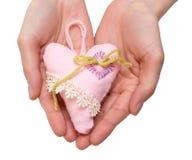 пинк сердца Стоковые Фотографии RF