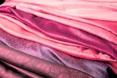 пинк ткани индийский Стоковое фото RF