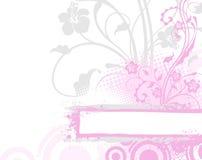 пинк цветка предпосылки иллюстрация штока