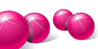 пинк шариков Стоковая Фотография