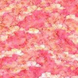 пинк grunge цветка мелка предпосылки пушистый Стоковая Фотография