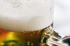 Пинта конца пива вверх Стоковое фото RF