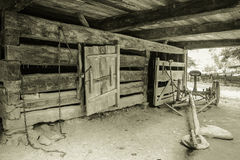 Пионерская ферма стоковая фотография rf