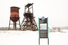 пионер шахты Стоковое Изображение