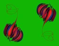 Пион абстрактного бутона розовый бесплатная иллюстрация