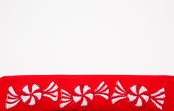 пипермент конфет горизонтальный Стоковые Фото