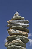 пирамида из камней Стоковое фото RF