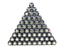 Пирамидка от клетки Стоковое Изображение
