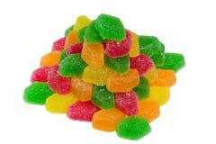 пирамидка плодоовощ конфеты стоковые изображения rf