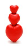пирамидка сердец Стоковое Изображение