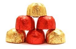 пирамидка шоколада Стоковая Фотография RF