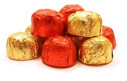 пирамидка шоколада Стоковое Изображение