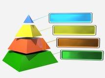 пирамидка Стоковое фото RF