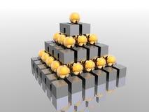 пирамидка иллюстрация штока
