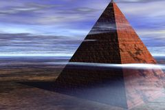 пирамидка иллюстрация вектора
