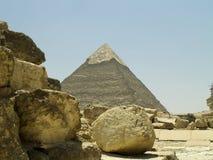 пирамидка greate egipt Стоковое Изображение