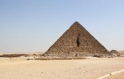 Пирамидка Menkaure, Гизы, Каир, Египета. Стоковые Фотографии RF