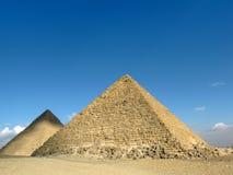 пирамидки 2 Египета giza Стоковое Фото