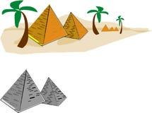 пирамидки Стоковое Изображение