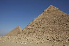 пирамидки giza большие Стоковая Фотография