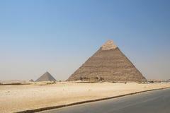 пирамидки giza Стоковые Изображения RF