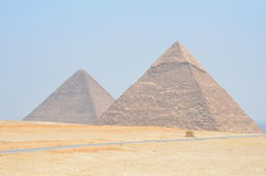 Пирамидки Gizeh Giza Стоковая Фотография RF