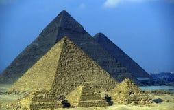 ПИРАМИДЫ АФРИКИ ЕГИПТА КАИРА ГИЗЫ Стоковая Фотография