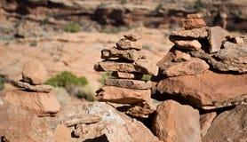 пирамиды из камней ii Стоковая Фотография RF