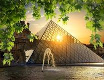 Пирамида в жалюзи стоковое фото