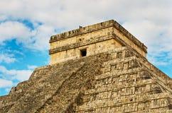 Пирамида в Chichen Itza, Юкатане, Мексике Стоковая Фотография