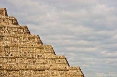 Пирамида в Chichen Itza, Юкатане, Мексике Стоковые Изображения