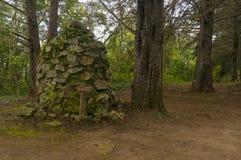 Пирамида из камней или святилище утеса Стоковые Изображения RF