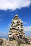 пирамида из камней pyrenees Стоковая Фотография