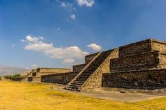 Пирамида луны, Teotihuacan, Мексика Стоковые Изображения