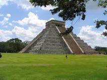 Пирамида - Chichen Itza - Юкатан/Мексика Стоковое Фото