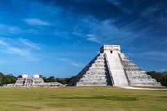 Пирамида Chichen Itza Стоковая Фотография