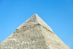 Пирамида Khafre в Гизе, Египте Стоковые Изображения RF