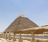 Пирамида Khafre Стоковые Изображения