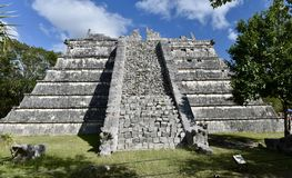 Пирамида Osario Стоковое Изображение