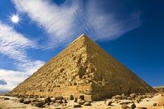 Пирамидка Khafre Стоковые Изображения