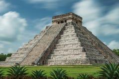 Пирамидка Kukulcan Стоковые Изображения