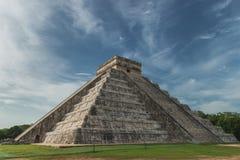 Пирамидка Kukulcan Стоковые Фото