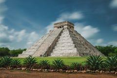Пирамидка Kukulcan Стоковая Фотография RF