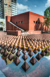 Пирамидки площади Juarez Стоковое Изображение