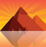 пирамидки Стоковое Изображение RF